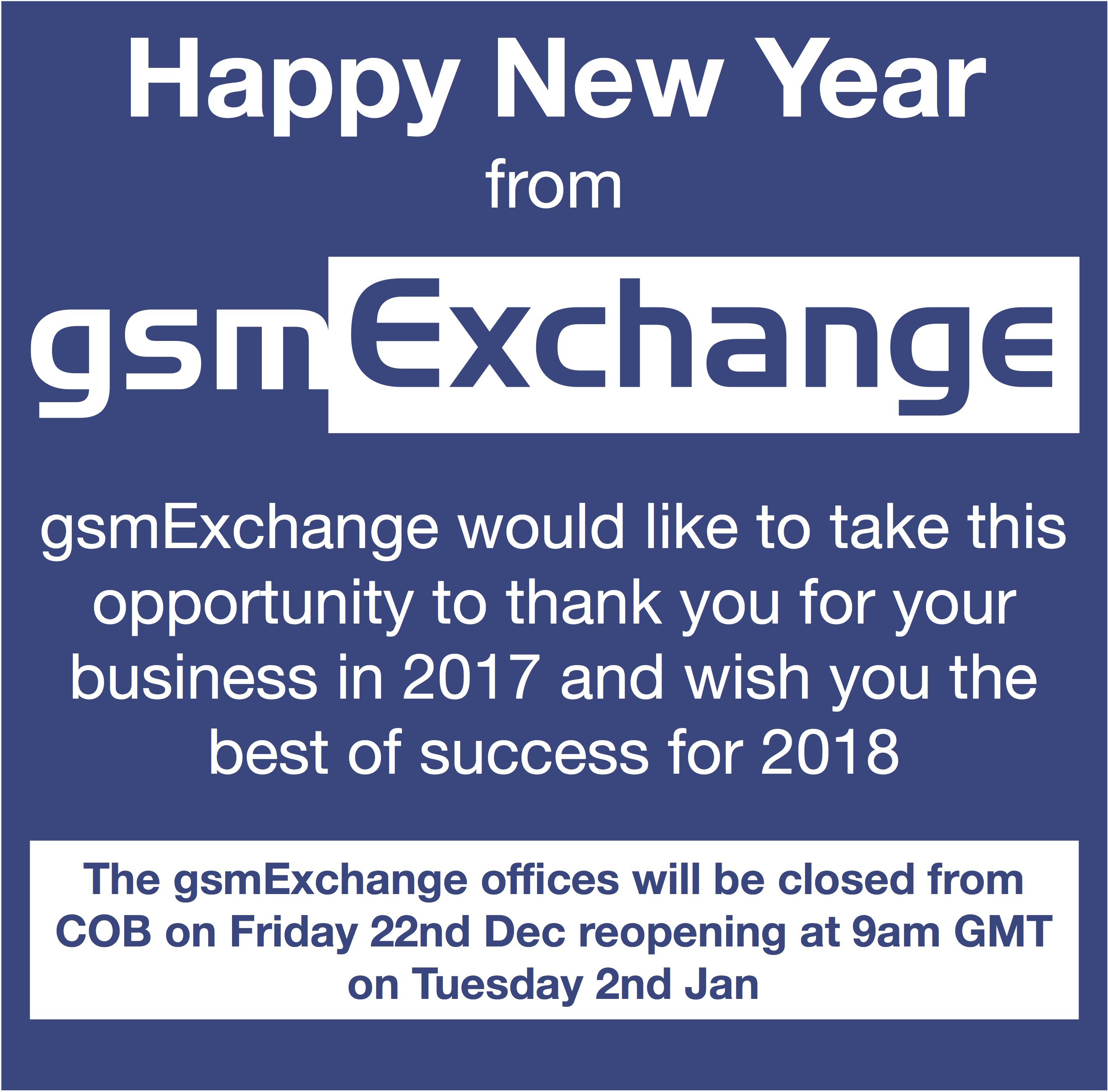 gsmExchange updates - gsmExchange